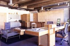 plywood creative space