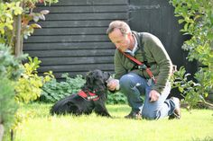 Molly our Cat Detection Dog during a training exercise with Colin Butcher UKPD The Pet Detective