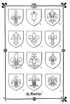 Fleur de Lis https://ia902701.us.archive.org/BookReader/BookReaderImages.php?zip=/26/items/amanualchurchde00geldgoog/amanualchurchde00geldgoog_tif.zip&file=amanualchurchde00geldgoog_tif/amanualchurchde00geldgoog_0137.tif&scale=4&rotate=0