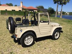 This 1981 Suzuki LJ80 is a clean example that features its original 800cc inline 4-cylinder engine and a 4-speed transmission. In March of 2015 the engine, carburetor, and intake manifold were overhauled, a new clutch was installed, and a correct-type transmission was sourced and refurbished. The tr