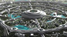 Futuristic Paradise by Jean-François Liesenborghs | Sci-Fi | 3D | CGSociety