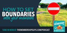 In this episode I talk about how you can set boundaries and expectations in order to ensure your membership remains manageable. Thank You For Listening, Communication Is Key, Social Media Buttons, Setting Boundaries, Competitor Analysis, Today Show, Online Courses, Online Business, Things To Come