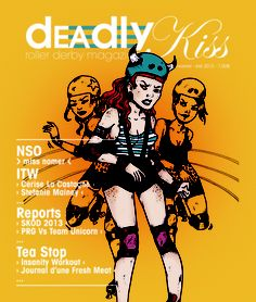 French Roller Derby magazine!