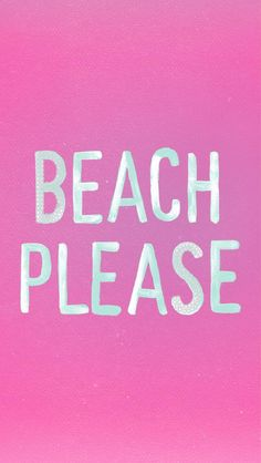 For real. After these frigid temps, I am ready to feel the sand between my toes.