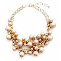 Pink Statement Necklace ......  ᗩᕍ〇ᖇᗩᕊᒪᙓ!