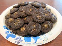 I love these Chocolate Cookies Bites! http://www.saucygirlskitchen.com/2013/08/30/chocolate-cookie-bites/