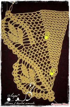 Leafy # Bactus # Shawl # Making # 6 – crochet pattern