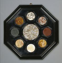 desimonewayland: Four Framed Hardstone Panels, Italian 17th C.