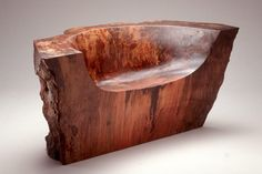 Howard Werner: Artist with a Chainsaw - Fine Woodworking. Woodworking. Carving. Rustic.