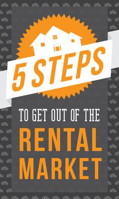 5 Steps to Get Out of the Rental Market (so you can buy a home!) | Richmond American Homes
