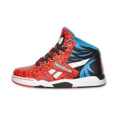 c02d08f25741d Spiderman x Reebok Sir Jam + SL 6510