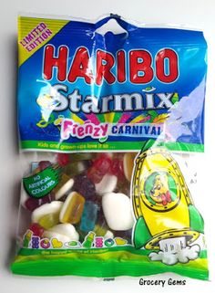 Grocery Gems: Review: Haribo Starmix Frenzy - Carnival Edition