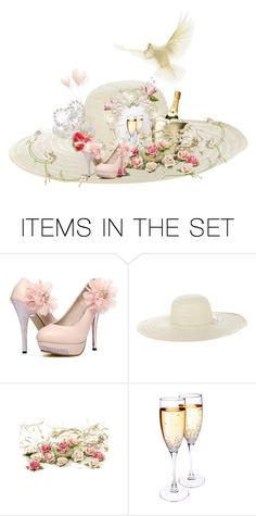 """""""Decorate a Hat! """" by kari-c ❤ liked on Polyvore featuring art"""