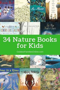 34 of the Best Children's Books About Nature. This list of nature books for kids includes books that will provide your family with hours of entertainment. via Baby Books Outdoor Activities For Kids, Nature Activities, Book Activities, Sequencing Activities, Best Children Books, Books For Boys, Childrens Books, Baby Books, Toddler Books