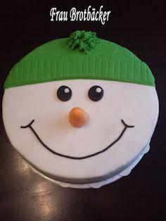Frau Brotbäcker: Snowman Cake