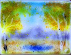 "Daily Paintworks - ""cool aspens"" - Original Fine Art for Sale - © Kristen Dukat"