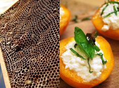 meet in your kitchen | Arnold, the Beekeeper and Peaches filled with Honey Basil Ricotta : eat in my kitchen