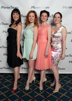 Audrey Billings, Alexandra Palkovic, Amanda Tanguay and Dara Cameron - One of Broadway's legendary romantic musicals, the Pulitzer Prize-winning SOUTH PACIFIC takes the stage at The Marriott Theatre, running now through June 2 at 10 Marriott Drive, Lincolnshire.