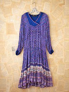 Vintage Indian Gauze Dress- Free People