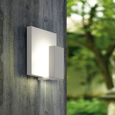 SKAPETZE -    Pardela / LED Aussen-Wandleuchte / 2-flammig / Weiss Aussenleuchten Wandleuchten Aussen