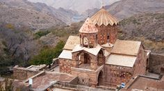 An ancient, Armenian monastery (Credit: Daniel Noll)