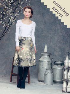 Love this skirt. It's reversible!