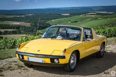 Porsche 914-12 Porsche Classic, Classic Cars, Porsche 912, Volkswagen, Fast Cars, Vintage Cars, Cool Photos, Automobile, German