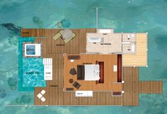 Maldives Overwater Bungalows | Niyama Water Studio with Pool