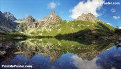 Green Lake In Tatra Mountain, Slovakia poster #poster, #printmeposter, #mousepad, #tshirt