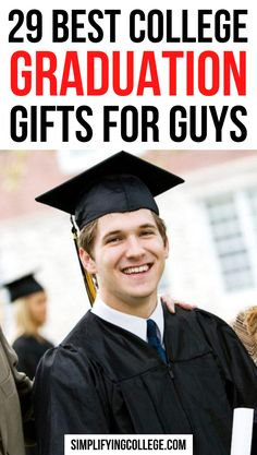 The best college graduation gifts for guys that he is guaranteed to appreciate! #college #graduation Boyfriend Graduation Gift, Graduation Poems, Graduation Gifts For Best Friend, High School Graduation Gifts, College Graduation Gifts, College Fun, Gifts For College Graduates, College Gifts, Brother