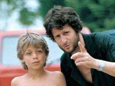 Valentino Rossi da piccolo prende consigli da futuro campione del mondo con il padre Graziano Rossi