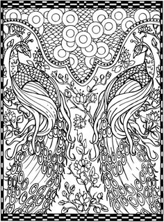 Creative Haven Art Deco Designs Coloring Book: Dover Publications Samples