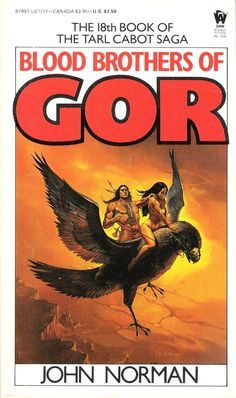 Blood Brothers of Gor by John Norman (Daw, 1982)