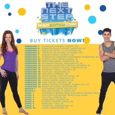 The Next Step Wild Rhythm Live Tour Family Channel, The Next Step, Quebec City, Buy Tickets, Favorite Tv Shows, Tours, Brittany, Stage, Entertainment