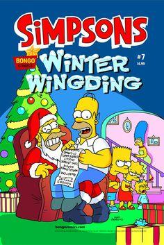 Simpsons Winter Wingding #7 comic book Bongo Comics
