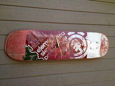 Des idées pour réutiliser autrement votre skateboard   BricoBistro
