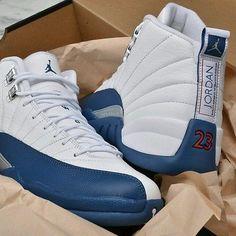 Nike Air Jordan Retro XII 12 French Blue Men's Size 11 wings GUARANTEED AUTH