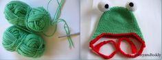 Free #frog #hat #crochet pattern