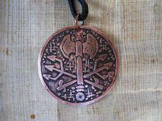 Medalha Xangô E Exu - Medalha Orixás - Umbanda - Candomblé - R$ 35,00