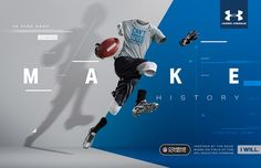 Series of images used for Under Armour& NFL combine authentic apparel. Photography: Tim Tadder and Mike Campau Post Production: Mike Campau AD: Sean Flanagan and Kirk Roush