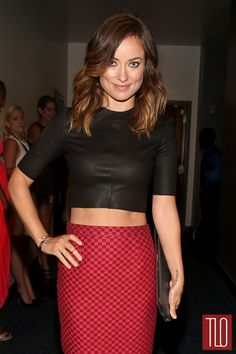 Olivia Wilde in A.L.C. at the ESPY Awards THOSE ABS