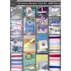 Occasions Bumper Card Making Kit - 4000 Pieces: Amazon.co.uk: Toys & Games