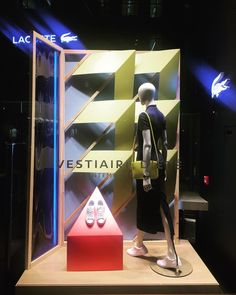 "LACOSTE, Regent Street, London, Uk, ""Don't walk away. And leave without a reason..."", photo by Window Shoppings, pinned by Ton van der Veer"