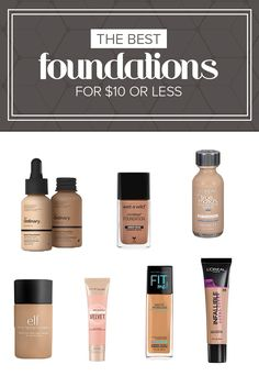 The Best Foundation Makeup Tips – How To Apply Foundation – Beauty Life Best Cheap Foundation, Full Coverage Drugstore Foundation, Best Drugstore Foundation, Foundation Dupes, Makeup Tips Foundation, Foundation Routine, How To Apply Foundation, Dior Forever Foundation, Beauty