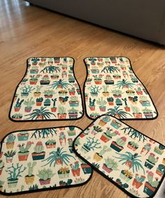 Cactus car mats.