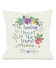'Loving Heart' Throw Pillow