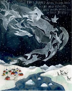 The Long Arctic Night by Diana Sudyka