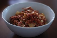 Corned Beef Hash--Filipino Style