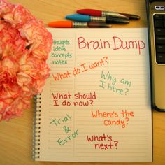 Increase Your Focus and Productivity With a Brain Dump - Sage Grayson Coaching