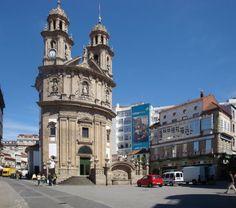 Pontevedra, Spain - Praza da Peregrina